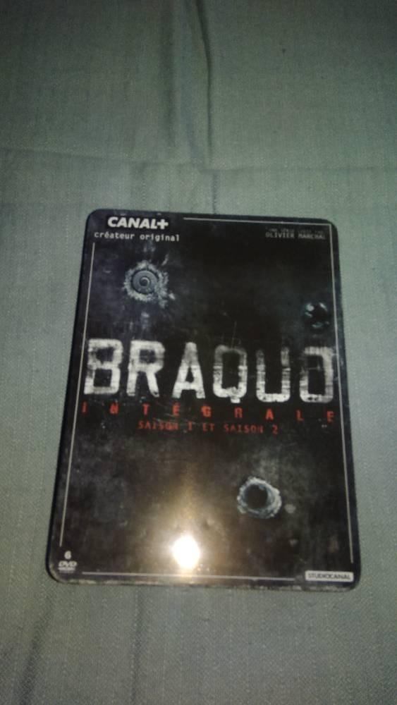 DVD Braquo intégral saisons 1 et  2