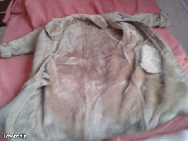 Ancien Manteau de Femme Vintage