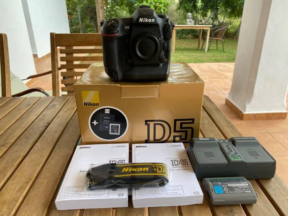 Nikon d5 neuf