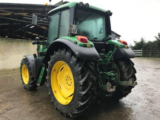 Tracteur agricole - John Deere 6105M (2016)