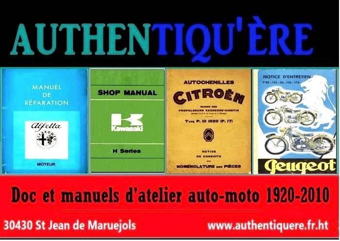Manuels d'atelier Buick Riviera 1965 1966