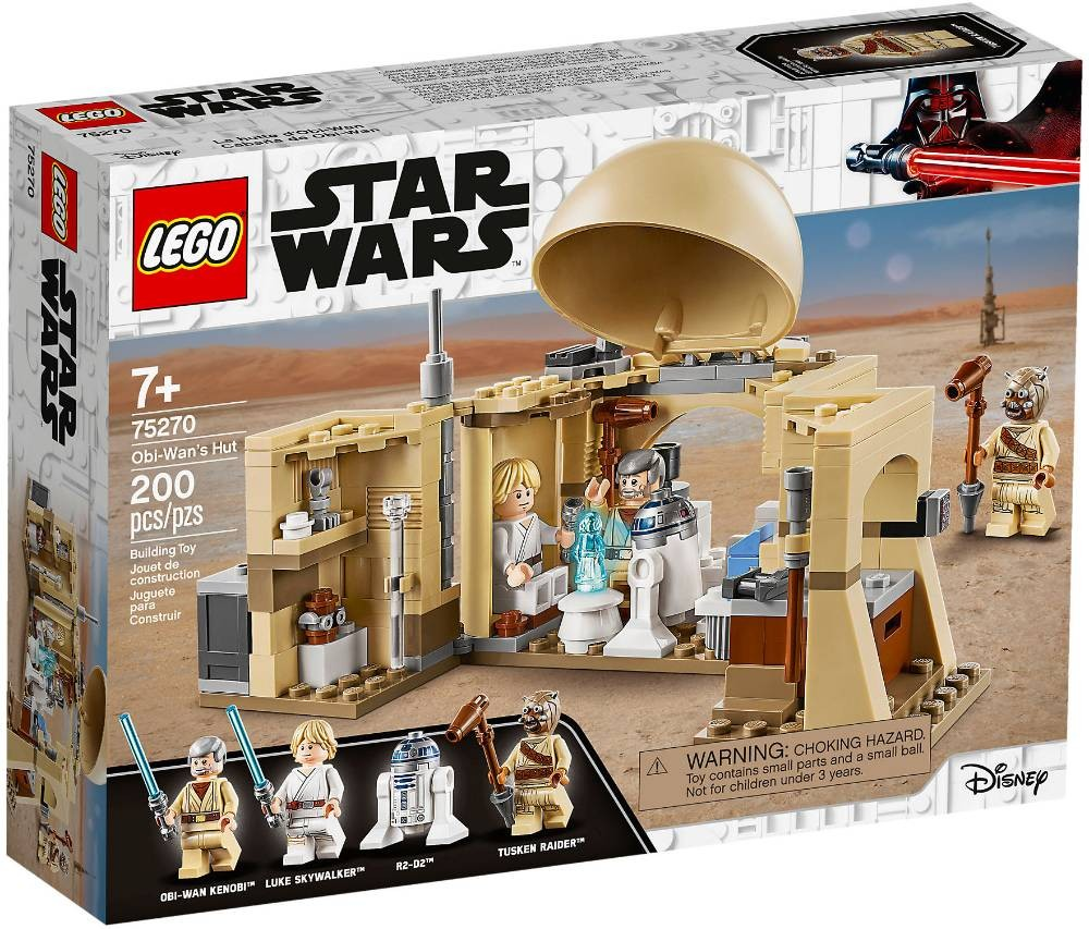LEGO STAR WARS - 75270 - La Cabane d'Obi-Wan