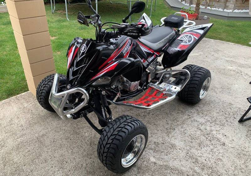 Quad Yamaha 700 raptor homologué
