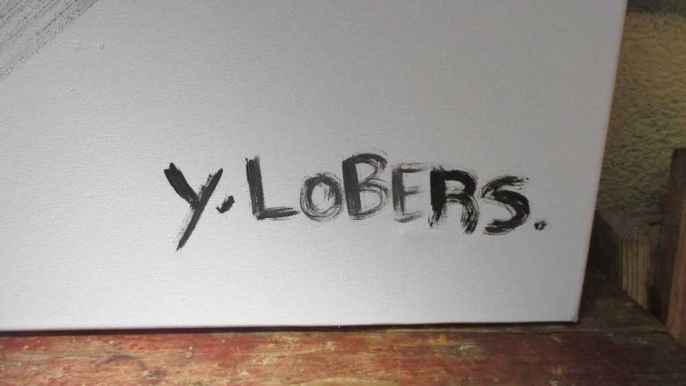 peinture yves lobers.
