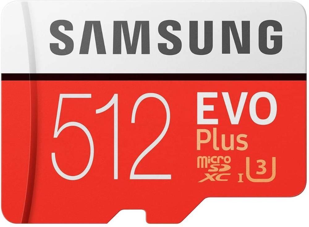 Samsoung Evo plus 512